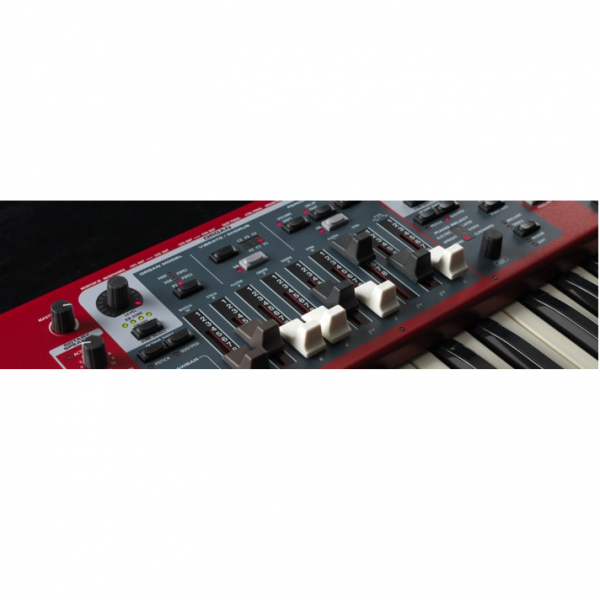 Clavia Nord Stage 3 HP76 draw bars