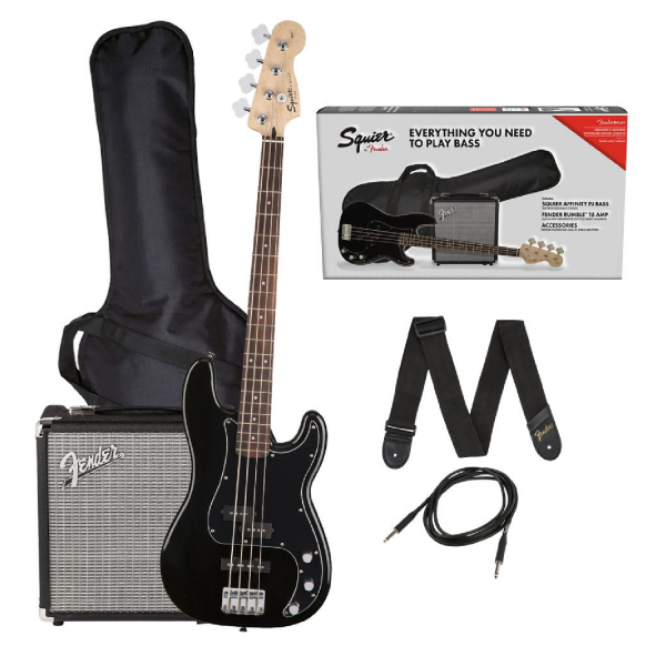 Squier Affinity Series Precision Bass PJ Pack - 0371982006