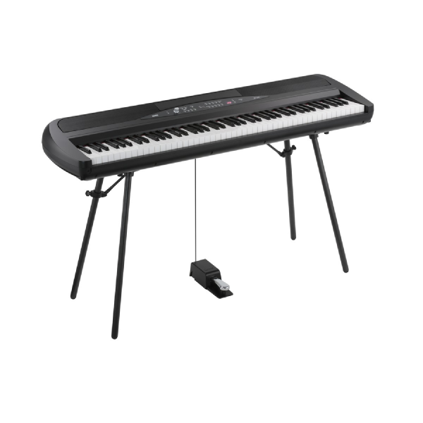 Korg SP280-BK with pedal and stand