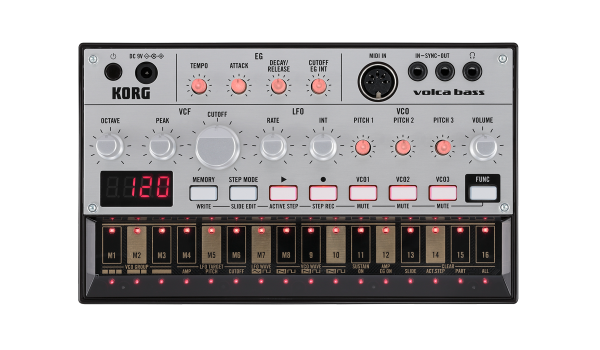 Korg Volca Bass top