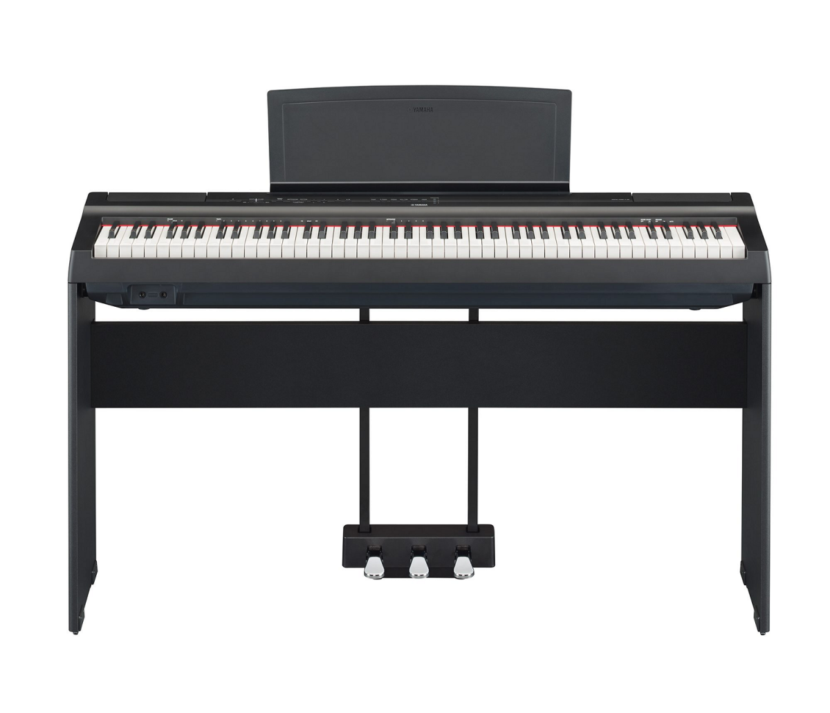 Yamaha P-125 with stand and pedals