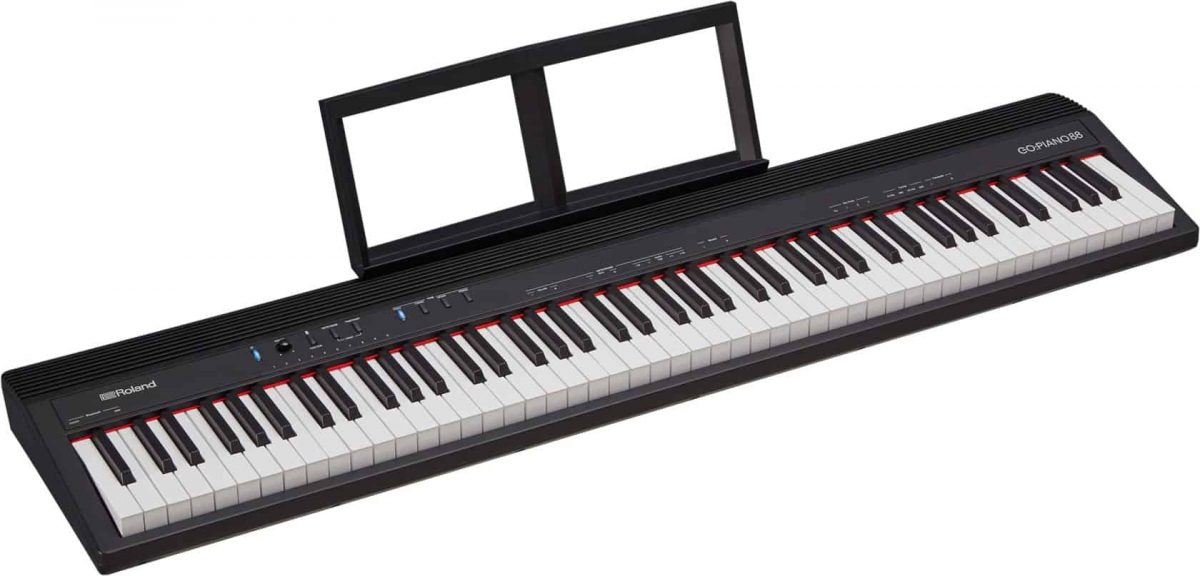 Roland GO:Piano88 music stand