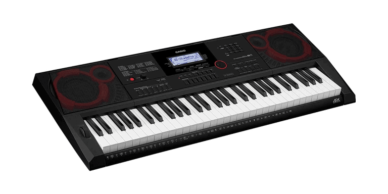 Casio CTX3000 angle