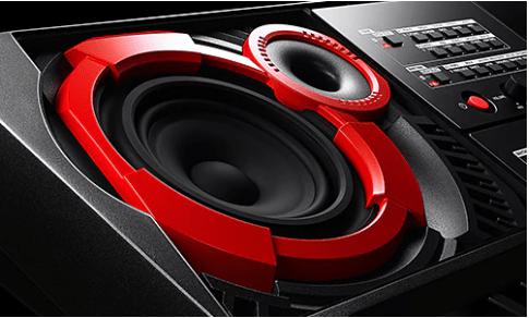 Casio CTX5000 speakers