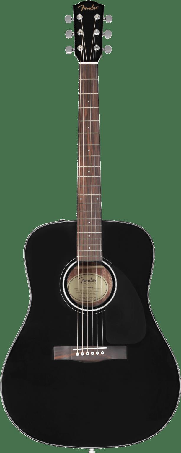 Fender CD-60 0970110206 Black