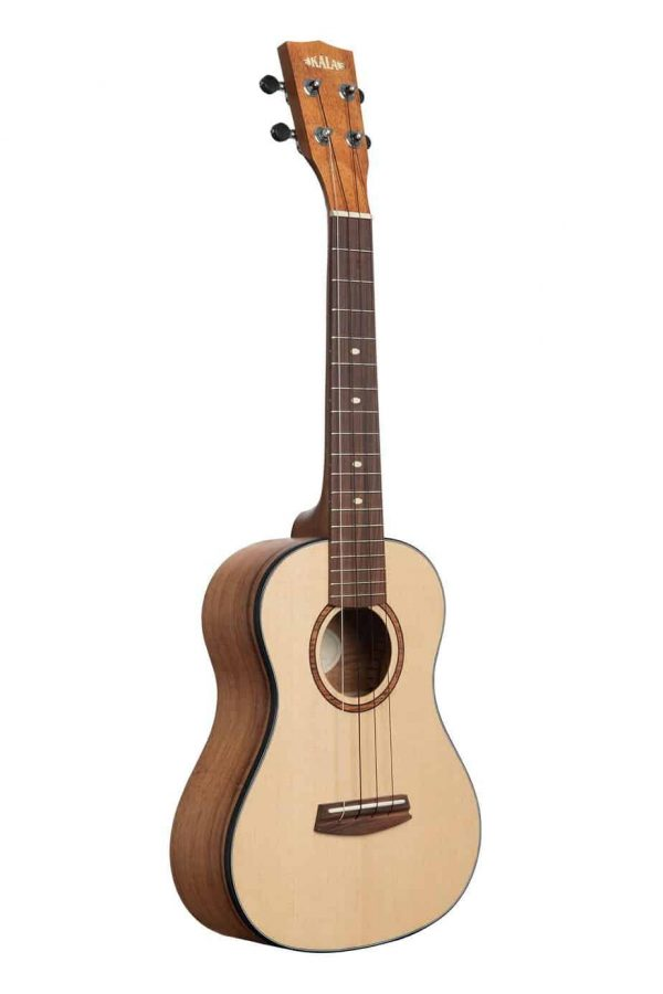 KALA Elite Port Orford Cedar Top Hawaiian Koa Tenor