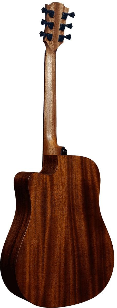 LAG Guitars Tramontane Hyvibe 10 Satin Smart Guitar - THV10DCE back