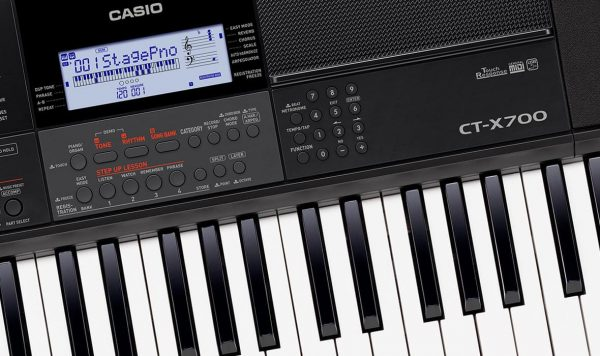 Casio CT-X700 zoom