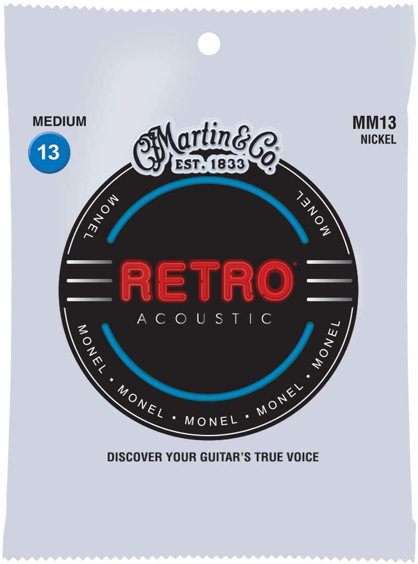 Martin MM13 retro acoustic guitar strings