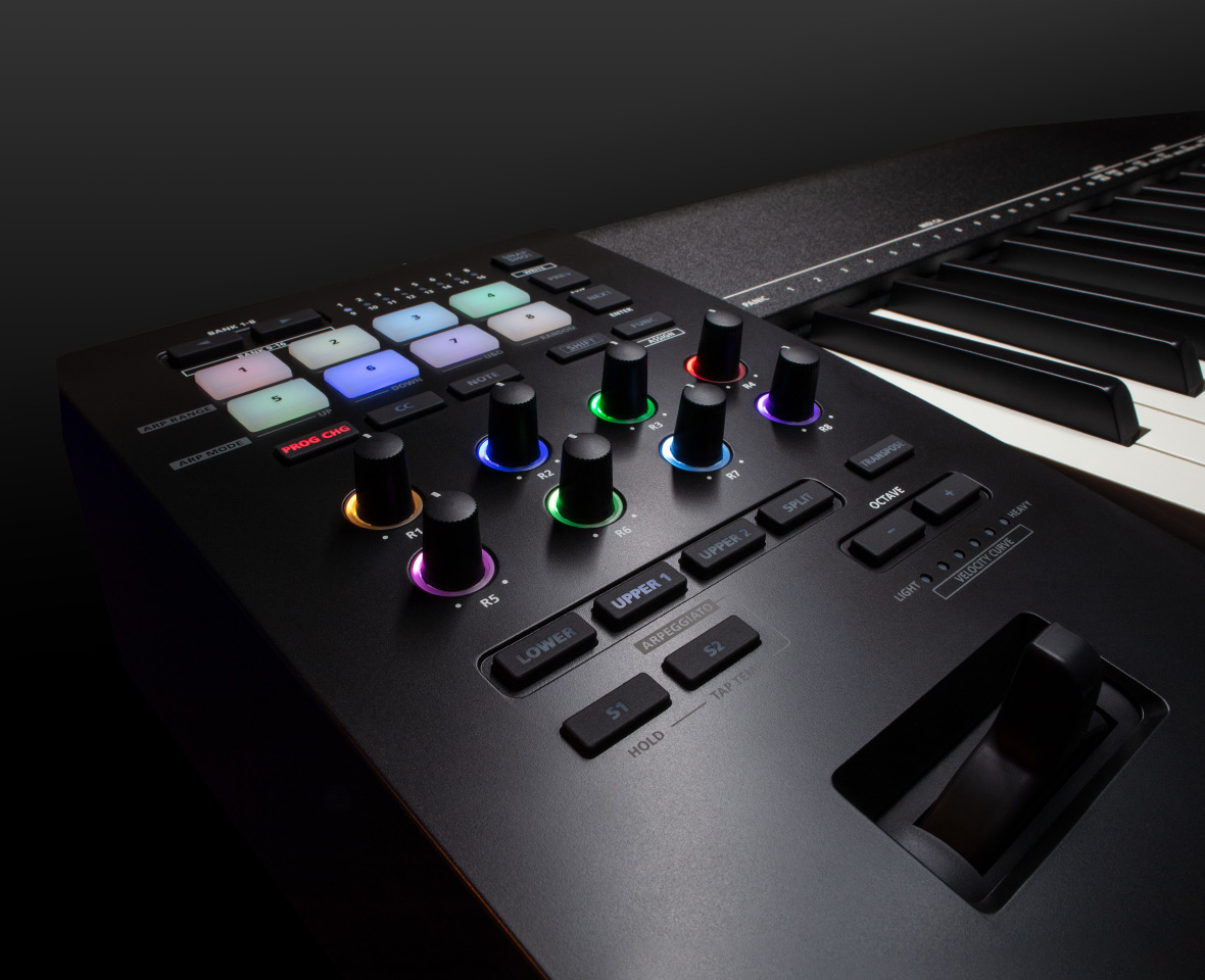 Roland A88MKII Controls
