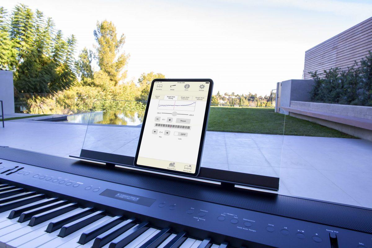 Roland FP90XBK ipad