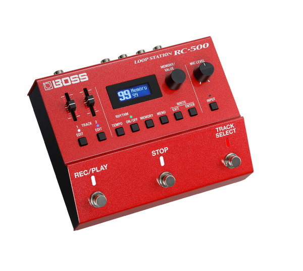 Boss RC-500 Loop Station side