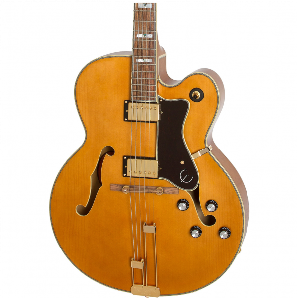 Epiphone Broadway in Vintage Natural - ETBWVNGH-front2