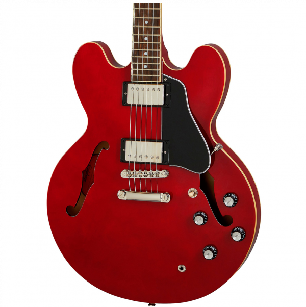Epiphone Inspired by Gibson ES-335 - Cherry - IGES335CHNH-front2