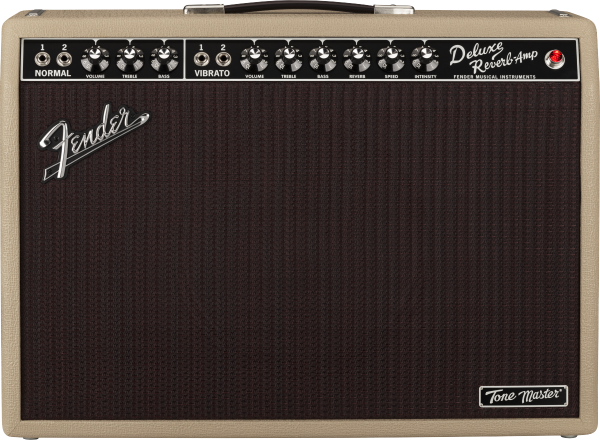 Fender Tone Master® Deluxe Reverb® Blonde front