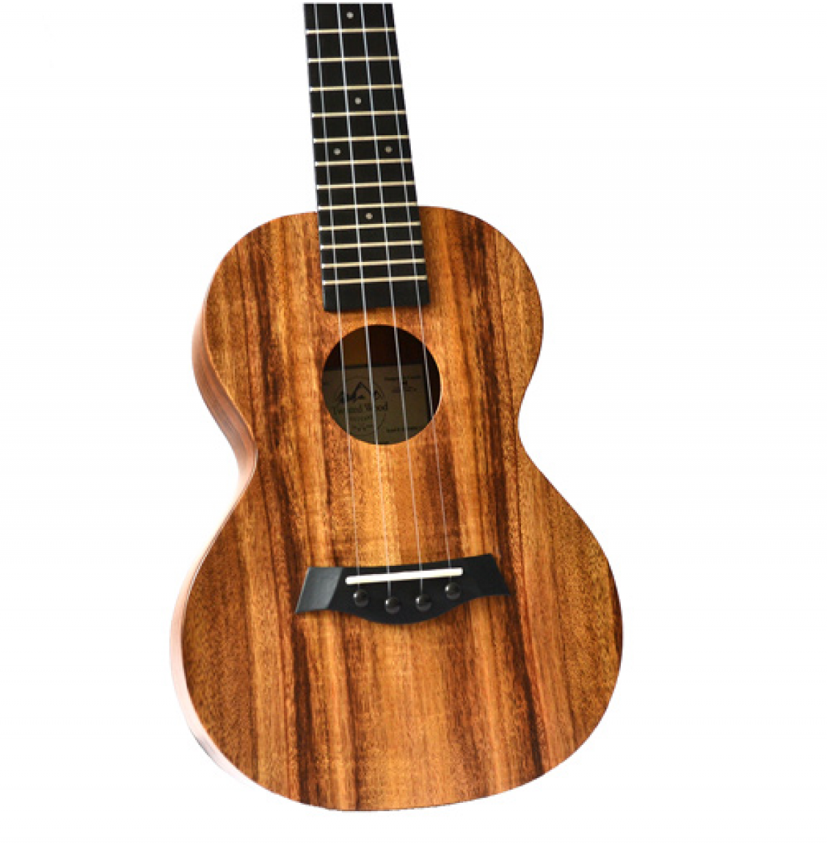 Twisted Wood Koa Ukulele - KO1000 zoom