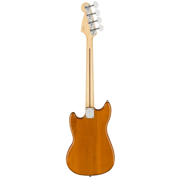 Fender Player Series Mustang Bass PJ with Pau Ferro Fingerboard - Aged Natural - 0144053528-back