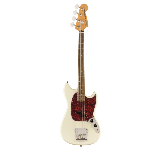 Squier Classic Vibe 60s Mustang Bass - Olympic White - 0374570505