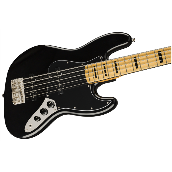 Squier Classic Vibe '70s Jazz Bass V - Black - 0374550506-front2