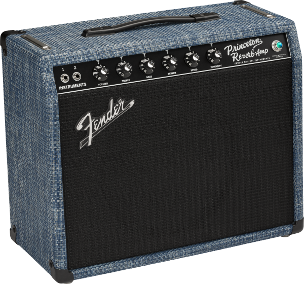 Fender 65 PRINCETON CHILEWICH DENIM