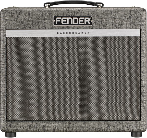 Fender Bassbreaker 15 Combo Gunmetal front