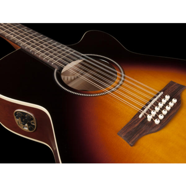 Seagull S12 Concert Hall CW - Spruce Sunburst GT Q1T - 42296-front