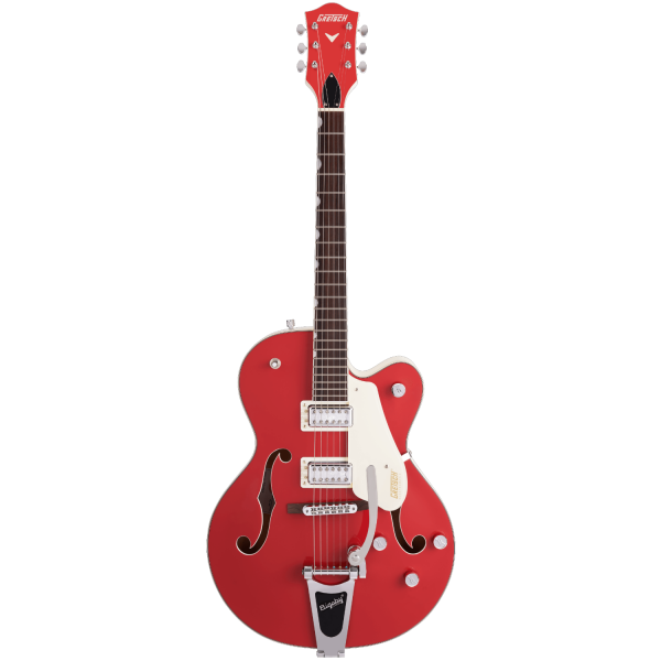 Gretsch - G5410T Limited Edition Electromatic Tri-Five Hollow Body Single-Cut with Bigsby - Rosewood Fingerboard - Two-Tone Fiesta Red-Vintage White