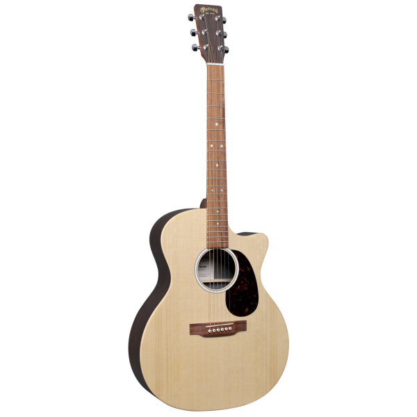 Martin GPC-X2E - Sitka Spruce-Rosewood HPL - Left Handed