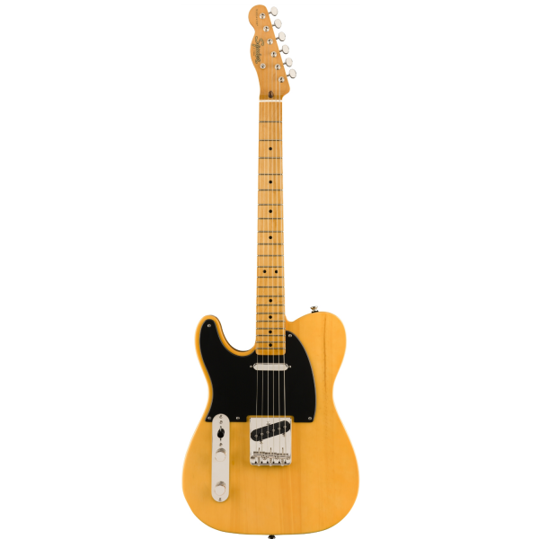 Squier - Classic Vibe '50s Telecaster - Left-Handed, Maple Fingerboard – Butterscotch Blond - 0374035550