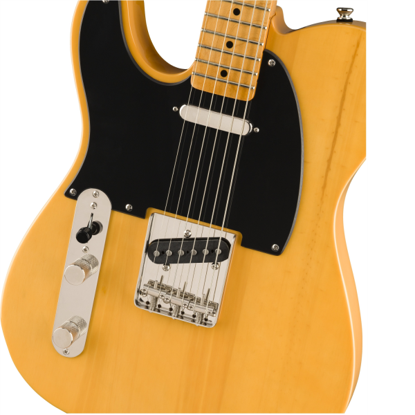 Squier - Classic Vibe '50s Telecaster - Left-Handed, Maple Fingerboard – Butterscotch Blond - 0374035550-front2