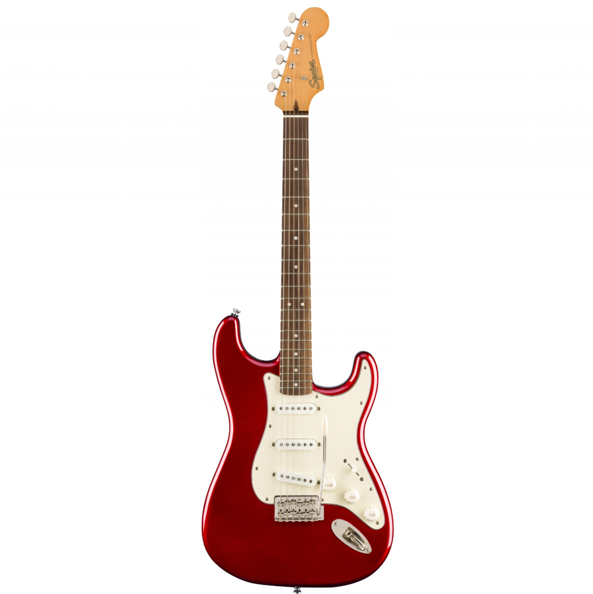 Squier - Classic Vibe '60s Stratocaster - Laurel Fingerboard – Candy Apple Red - 0374010509