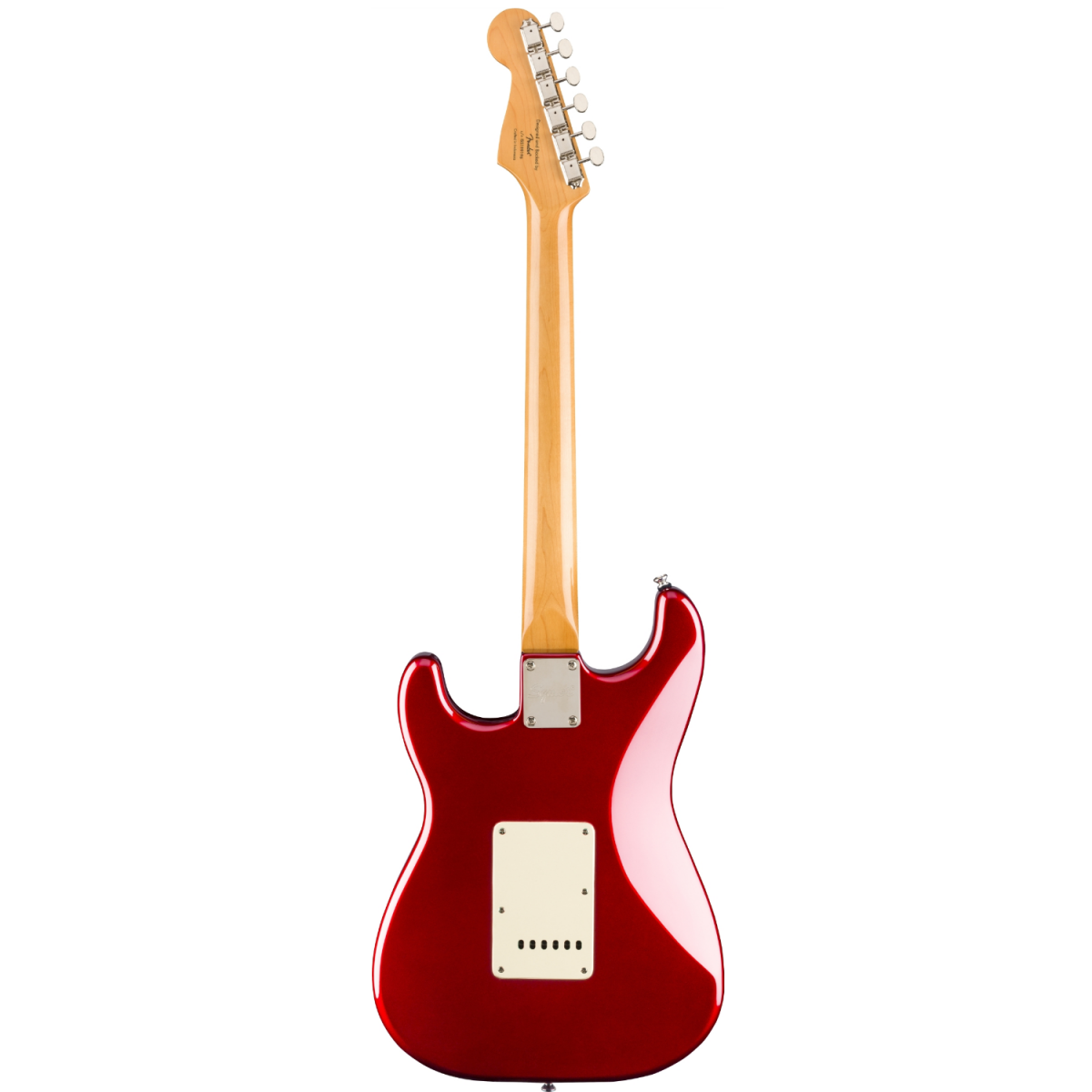 Squier - Classic Vibe '60s Stratocaster - Laurel Fingerboard – Candy Apple Red - 0374010509-back