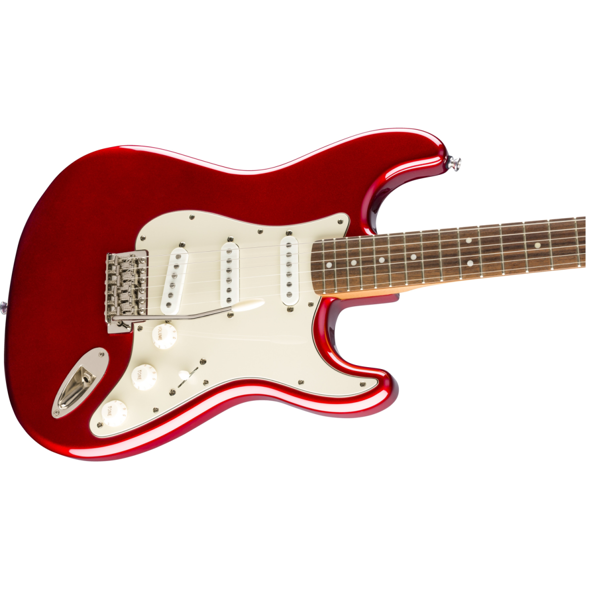 Squier - Classic Vibe '60s Stratocaster - Laurel Fingerboard – Candy Apple Red - 0374010509-front3
