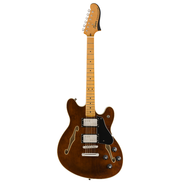 Squier - Classic Vibe - Starcaster with Maple Neck Fingerboard - Walnut - 0374590592
