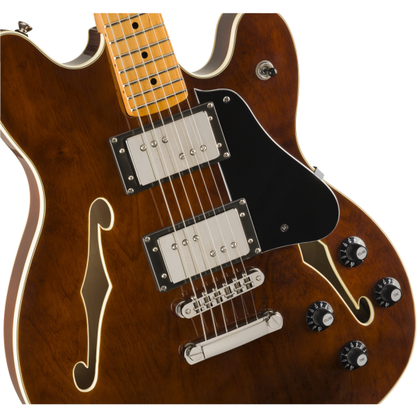 Squier - Classic Vibe - Starcaster with Maple Neck Fingerboard - Walnut - 0374590592-front2