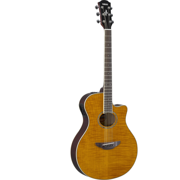 Yamaha - APX600 Series - Flame Maple - Top Amber