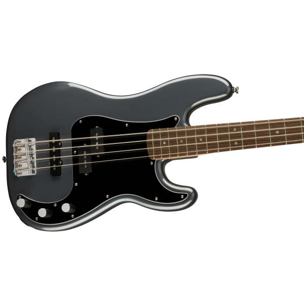 Squier - Affinity Series Precision Bass PJ - Charcoal Frost Metallic - 0378551569-front3
