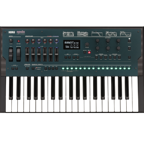 Korg OPSIX - Altered FM SYNTHESIZER top