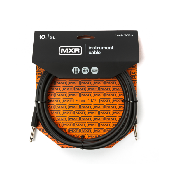 MXR-DCIS10 - 10FT Standard Instrument Cable /Straight