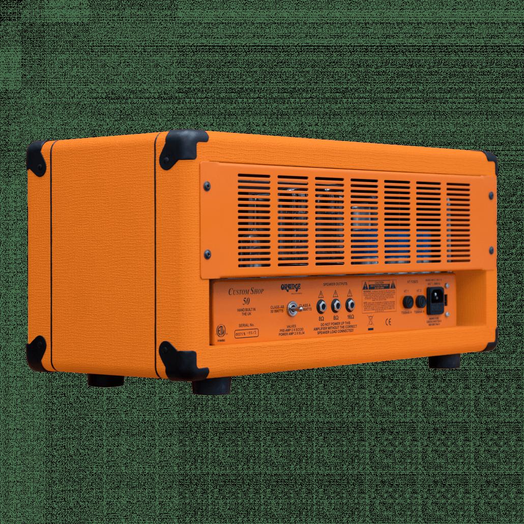 Orange Custom Shop 50 - CS50H back