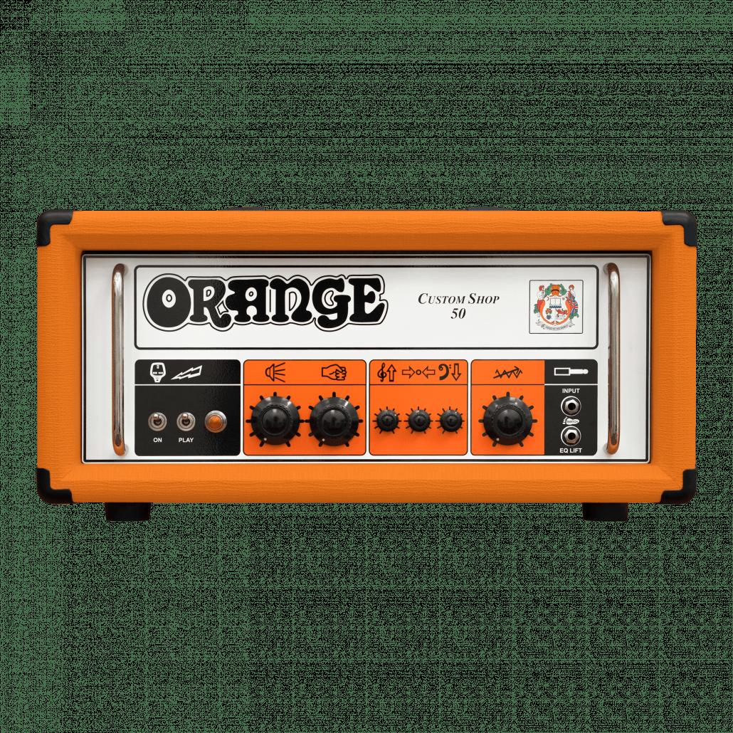 Orange Custom Shop 50 - CS50H