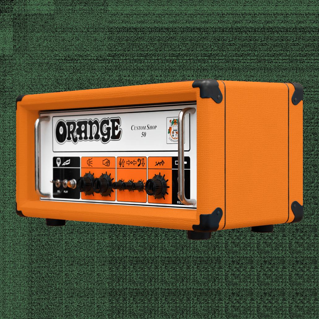 Orange Custom Shop 50 - CS50H right