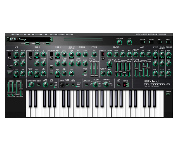 Roland System-8 top