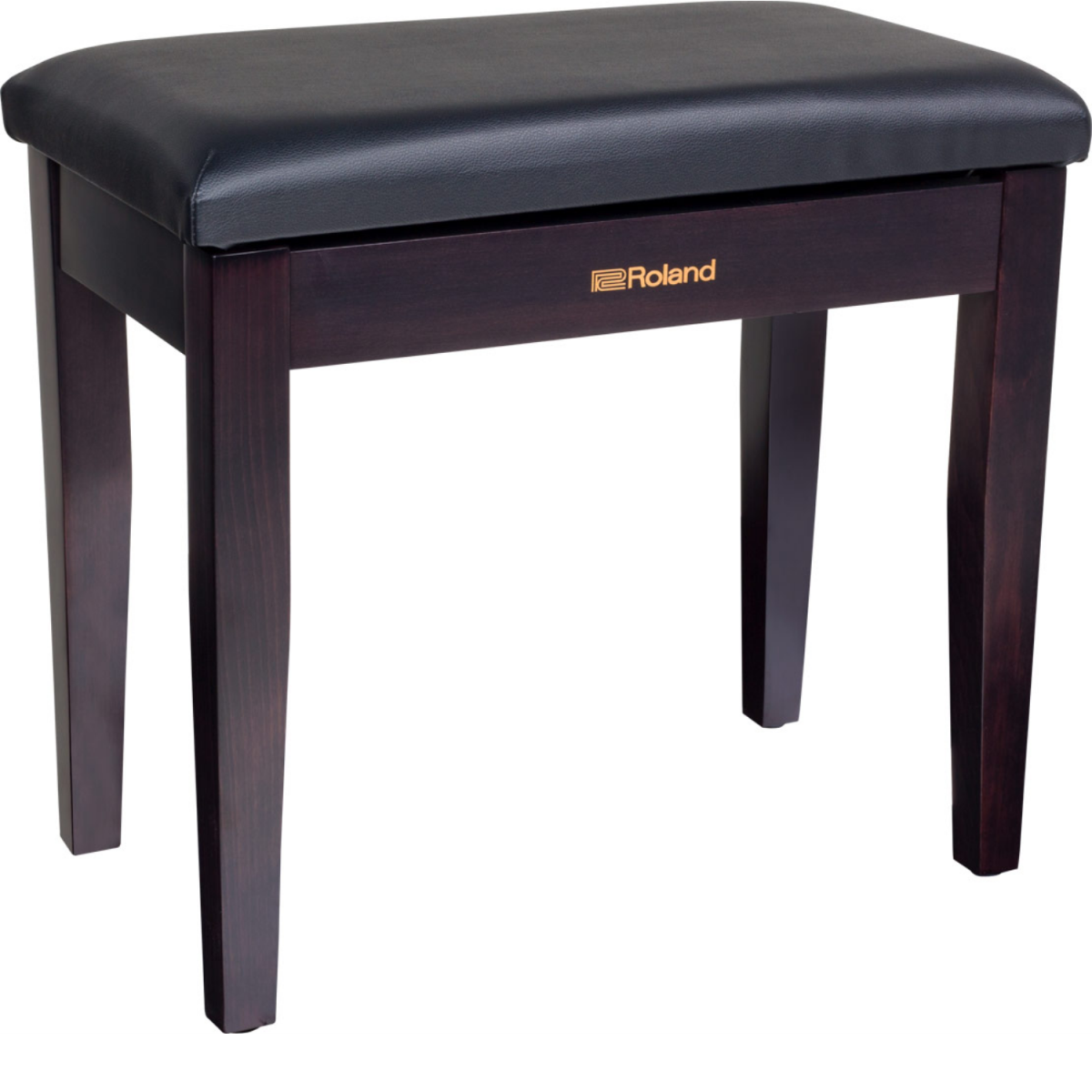 RO-TD07KVXSRoland - Piano Bench with Storage Compartment - Rosewood - RPB100RW