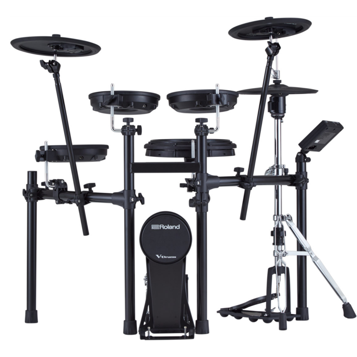 Roland - V-Drums Kit with Stand - TD07KVXS-front