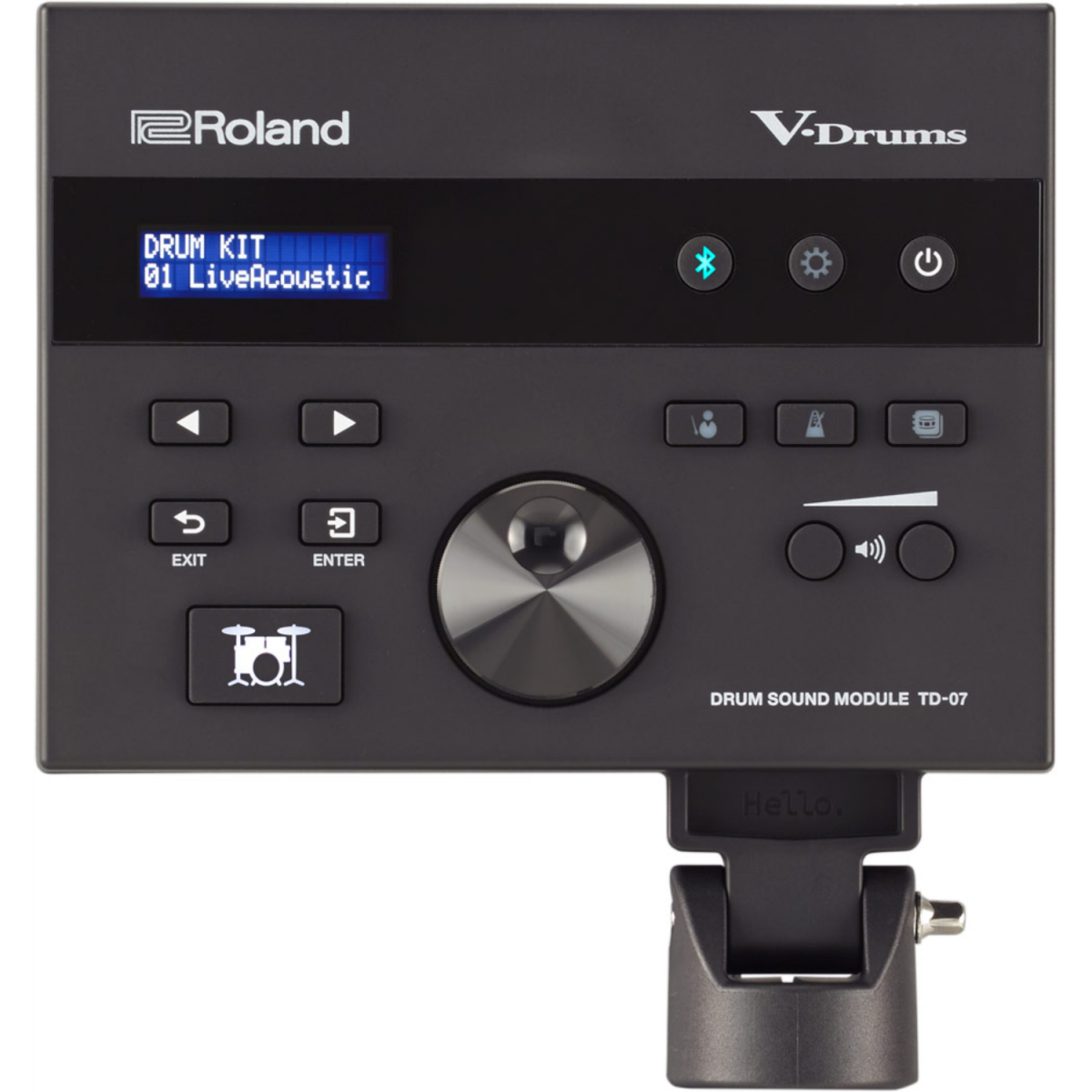 Roland - V-Drums Kit with Stand - TD07KVXS-module