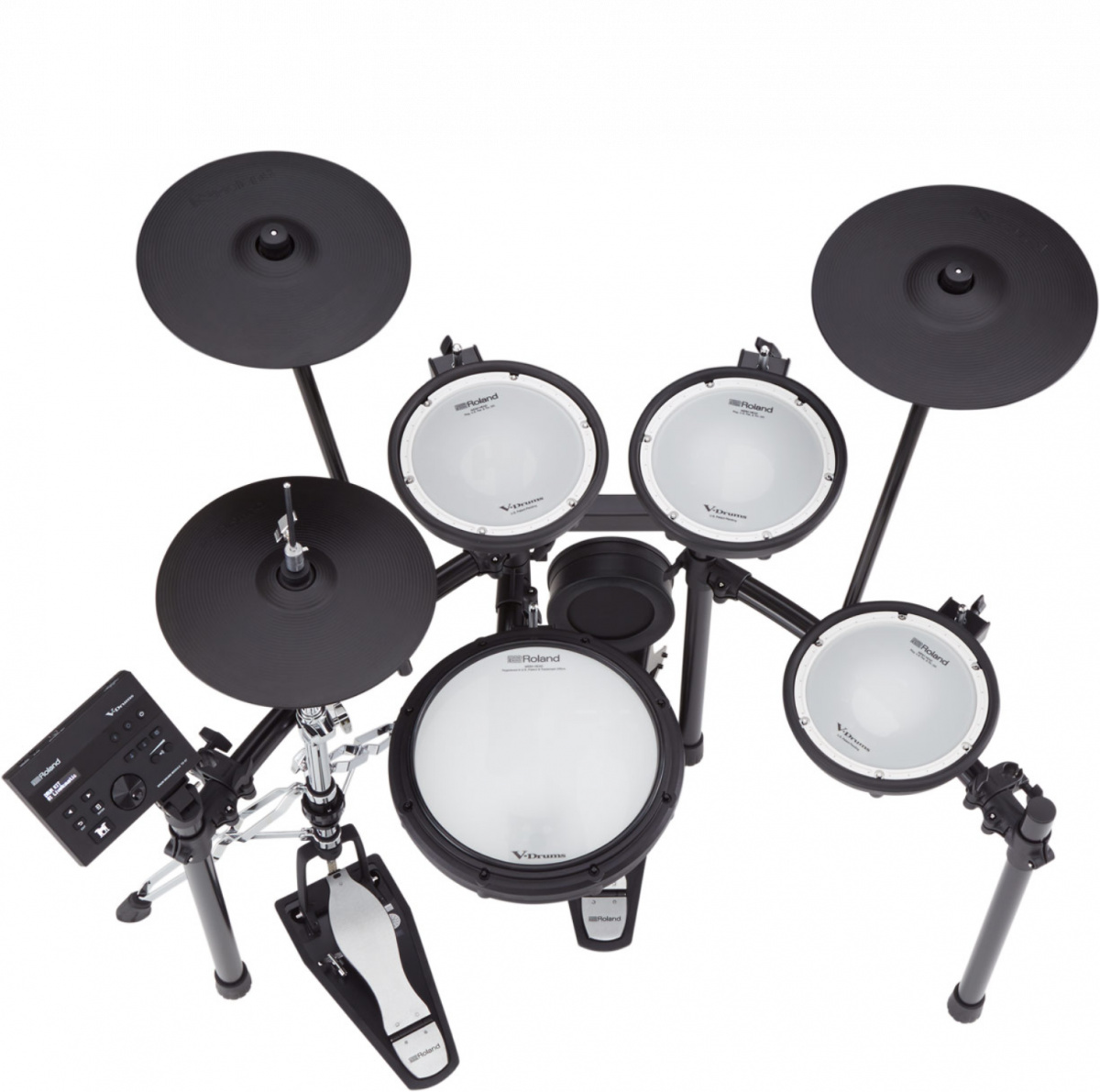 Roland - V-Drums Kit with Stand - TD07KVXS-top