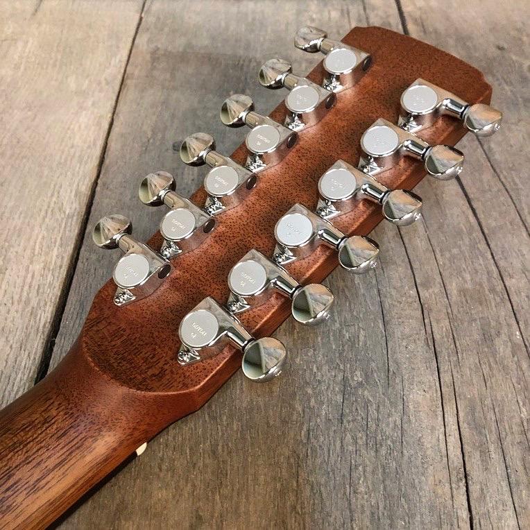 Boucher - SG12-63E Studio Goose Jumbo 12-strings back head