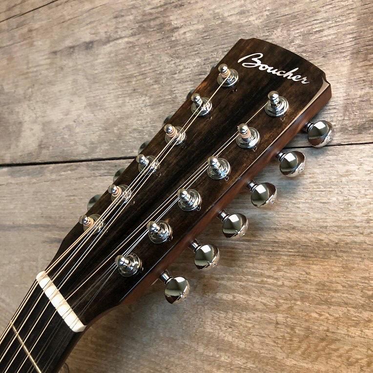 Boucher - SG12-63E Studio Goose Jumbo 12-strings head