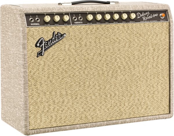 Fender 65 Deluxe Reverb Fawn Greenback - 0217400972